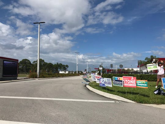 The Indian River County Intergenerational Recreation Center election precinct was packed Tuesday for the midterm election.