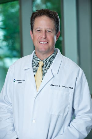 Edward Savage, MD, is Martin Health's medical director of cardiovascular surgical services.