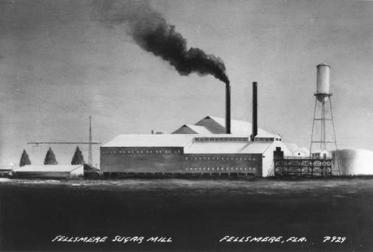The Fellsmere Sugar Mill was built by Frank Heiser and his Fellsmere Sugar Company in 1932. The mill processed 2 million pounds of raw sugar by April 7, 1933. The mill continued to operate until 1965 and saved Fellsmere from bankruptcy through The Great Depression.