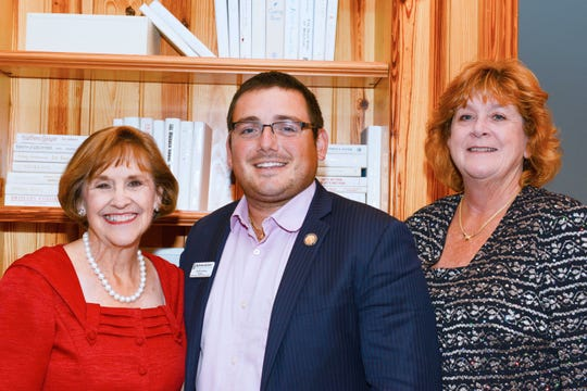 State Rep. Gayle Harrell, left, with St. Lucie County Commissioner Anthony Bonna and Karen Sweeney at Big Brothers Big Sisters' Chocolate, Champagne & Chefs fundraiser at Quail Valley River Club in Vero Beach. Harrell and Bonna also are Big Brothers Big Sisters board members.