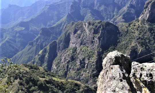 Mexican police searched for U.S. hiker Patrick Braxton-Andrew near the village of Urique, in the Copper Canyon region of southwestern Chihuahua.