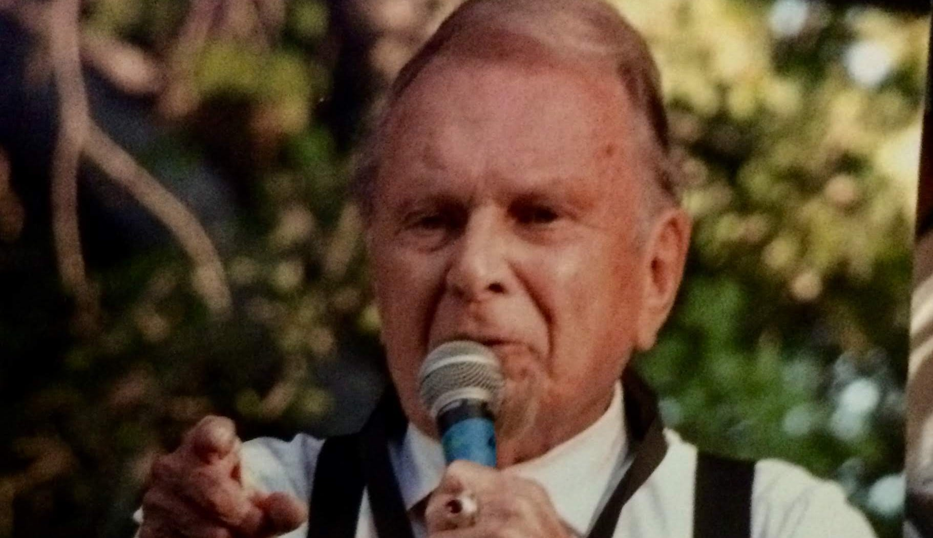Dick Dodd, a 90-year-old Ventura veterans home resident, volunteers at museums, performs at Alzheimer's units, plays the sax at local concerts and tells stories.