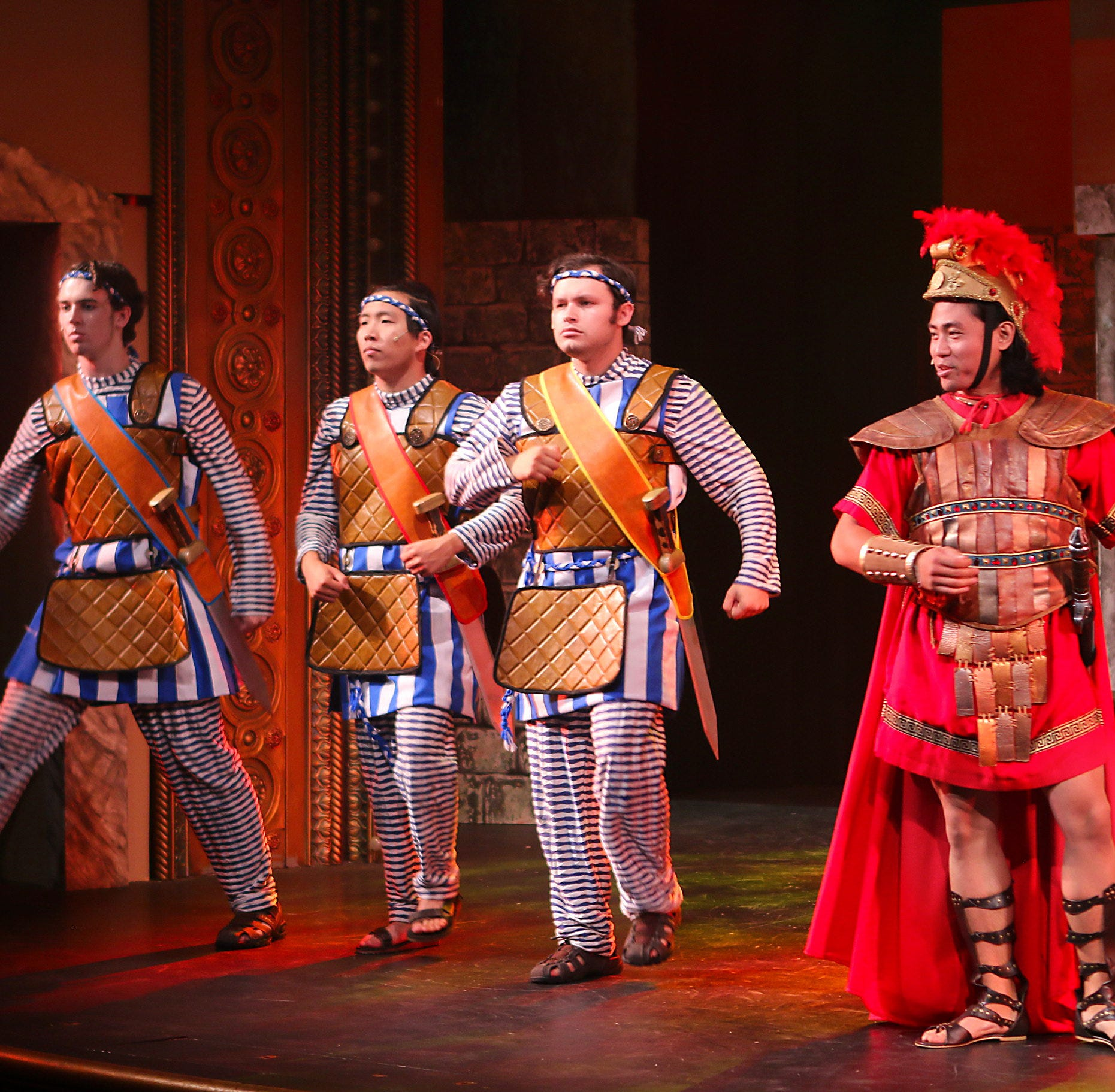 Theater review: Moorpark's 'A Funny Thing Happened on the Way to the Forum' a standout