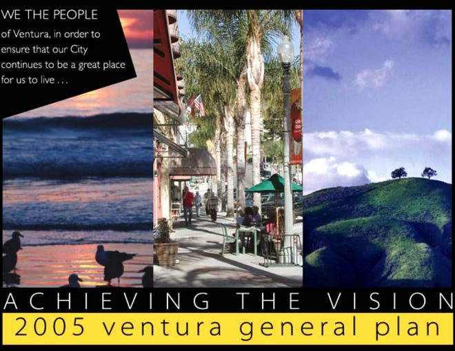 The process for updating the city of Ventura's General Plan is starting.