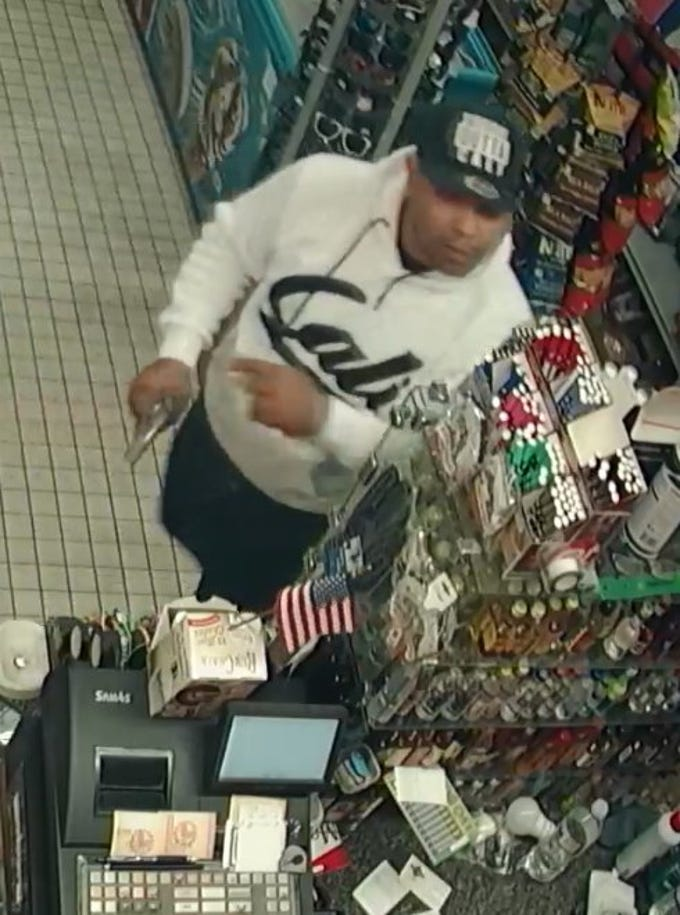 Ventura police want the public's help identifying a suspected robber.