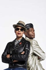 "The Selecter's Pauline Black and Arthur ""Gaps"" Hendrickson play Sunday at the Ventura Magestic Theater."