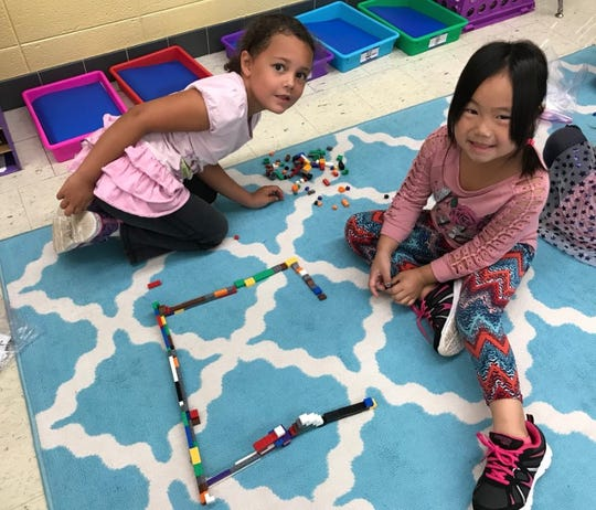 Maker Space time challenges students to use what they've learned in the classroom — across all subjects — to come up with a unique solution.