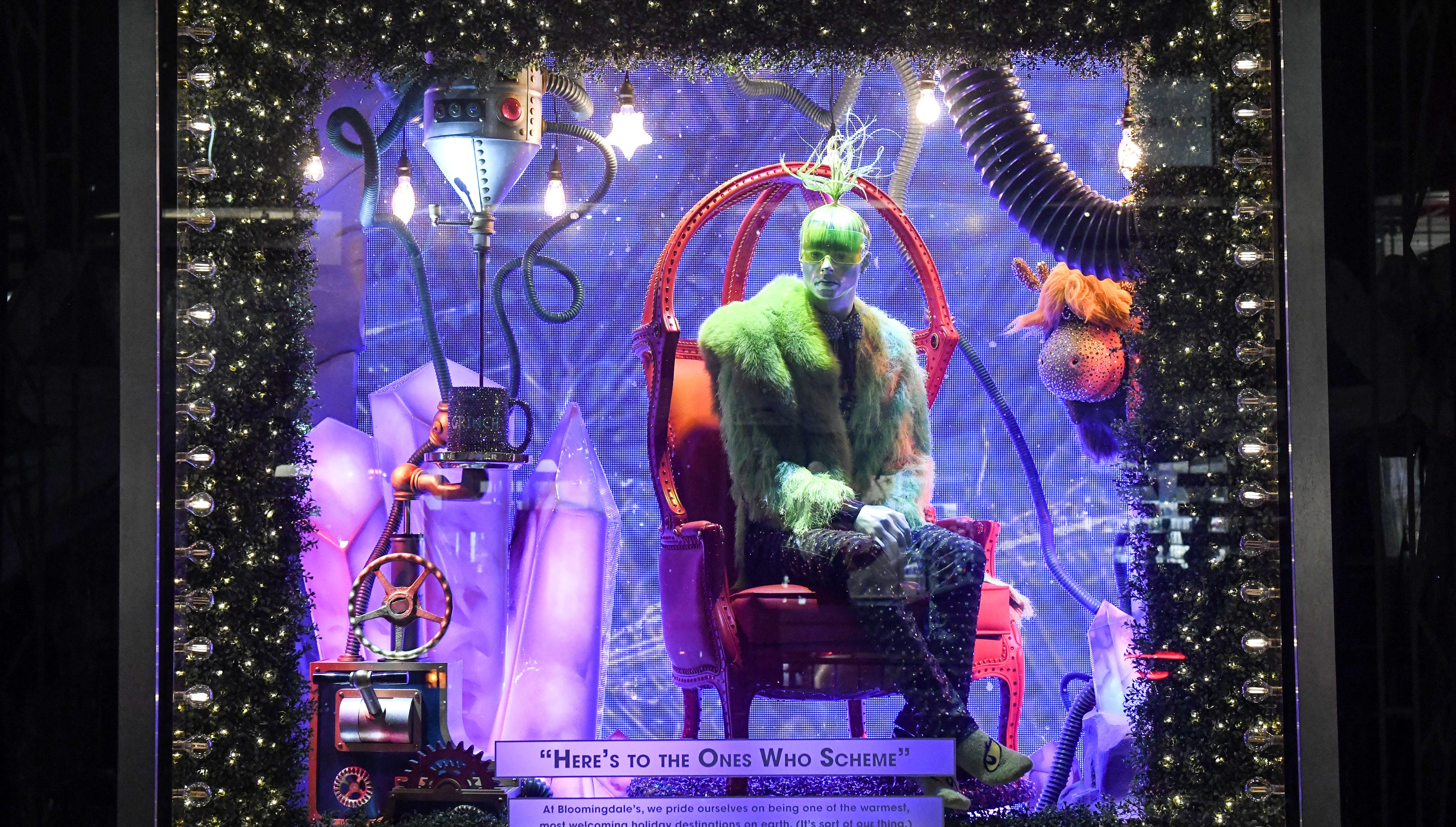 NYC s holiday windows 2018 What to see