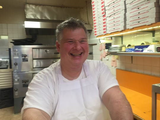 Joe Giuliano, owner of Yorktown Pizza and Pasta, a longtime business on the corner of the Route 202-Route 118 intersection.