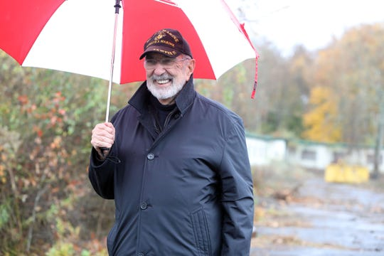 John Murphy, founder of Rockland Homes for Heroes, near Phase II of the development project to build housing for veterans on the site of the former Camp Shanks in Tappan Nov. 5, 2018.
