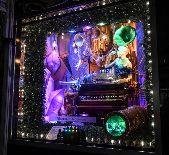 The Grinch Stole Christmas is the theme of Bloomingdale's holiday windows in 2018.