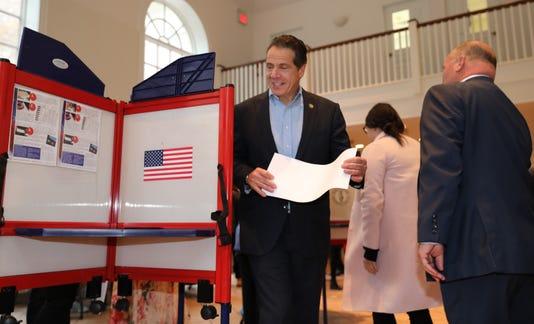 Cuomo Voting 2018