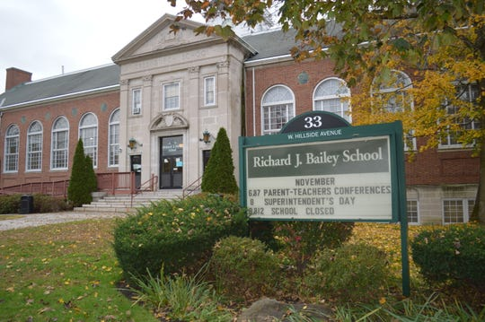 The R.J. Bailey school, which houses grades 4 to 6, would close under the district's consolidation plan.