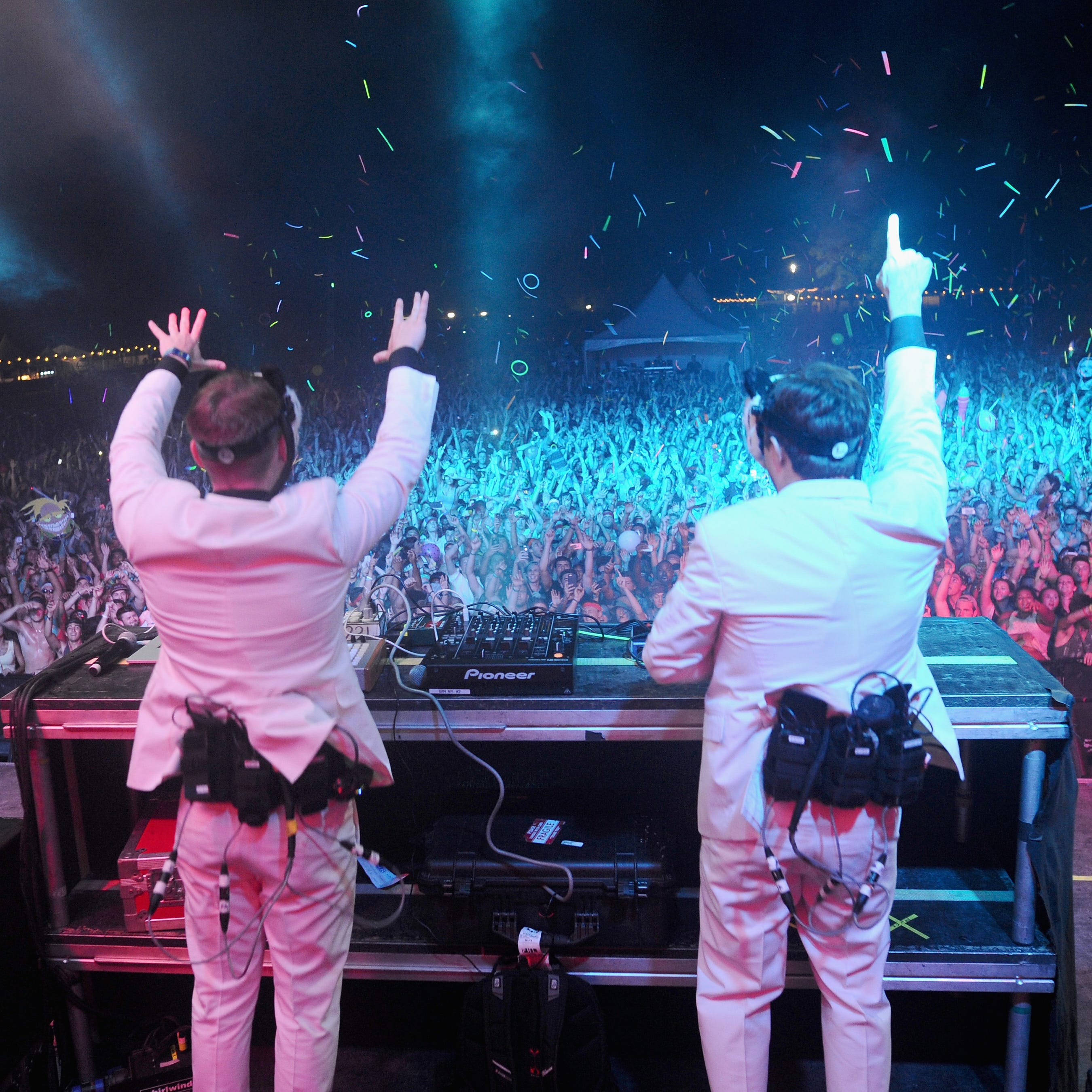 White Panda performs at Firefly Music Festival on June 21, 2015 in Dover. The EDM DJ will headline Dewey Beach's Bottle & Cork on New Year's Eve.