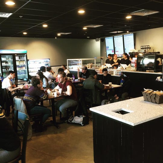 The new Drip Cafe on College Avenue in Newark opened last month.