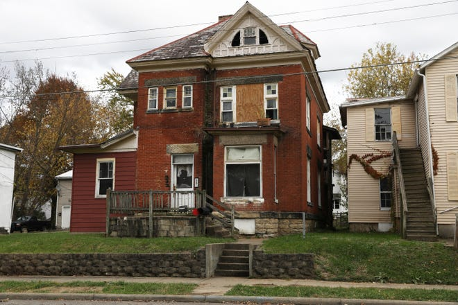 230 Luck Avenue in Zanesville is one of the properties owned by John Kemp that will be surrendered to the City of Zanesville and then demolished as part of a plea agreement for Kemp's role in the Kylee Lindell murder.