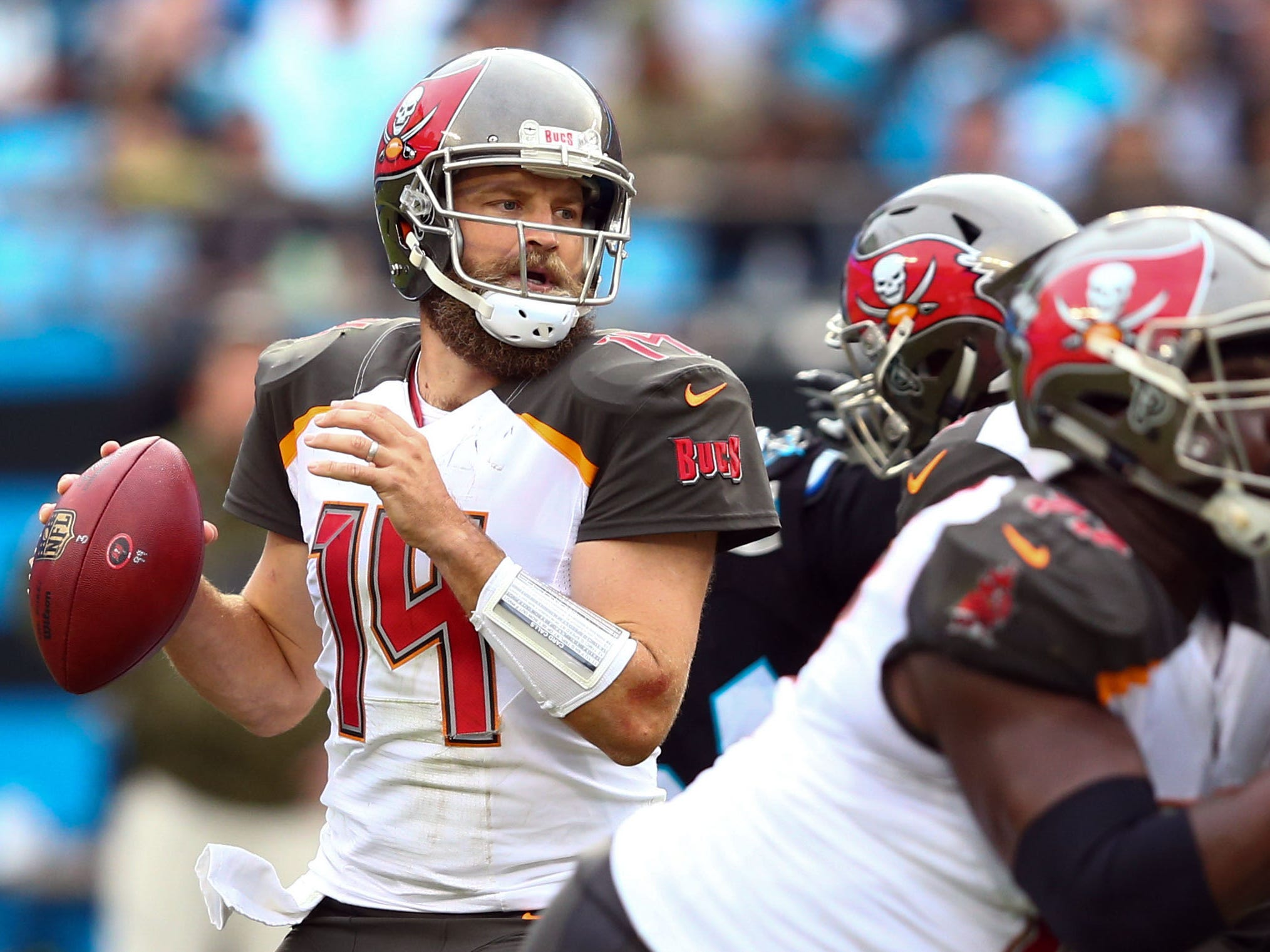 23. Buccaneers (23): What's left to say? Final score was respectable Sunday, but this was offense's least productive day of 2018 despite Fitzmagic's return.