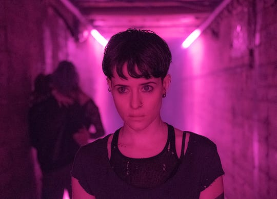 """Claire Foy opted for a more subdued look for Lisbeth this go-around, to reflect her character's growth from her younger, wilder days in """"Dragon Tattoo,"""" and to show a woman just trying to blend into society."""