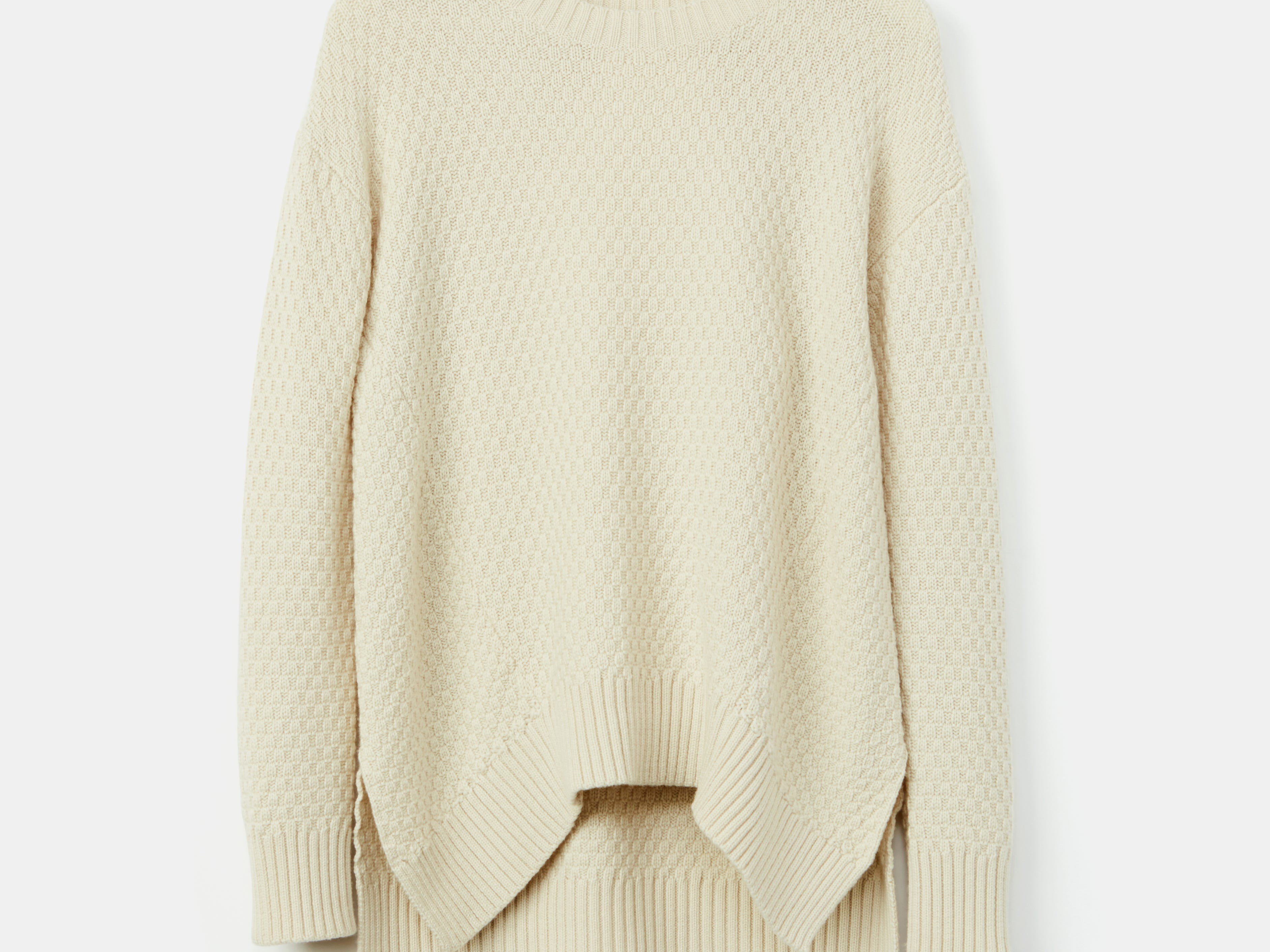Amour Vert's Abba Crewneck Sweater is made of merino wool sourced from a partner mill in Italy. Price: $188.