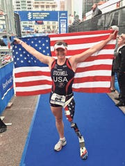 Melissa Stockwell co-founded the Dare2tri Paratriathlon Club, which provides coaching, adaptive equipment and support to more than 300 athletes with disabilities including amputation, spinal cord injury and visual impairment.