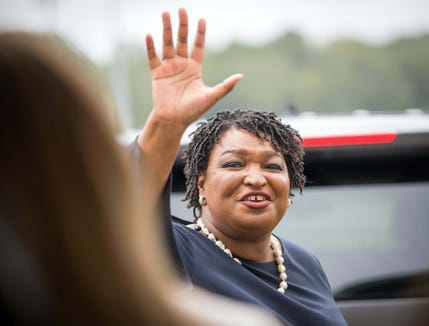 Stacey Abrams could become the first African-American woman to win a gubernatorial race in U.S. history.