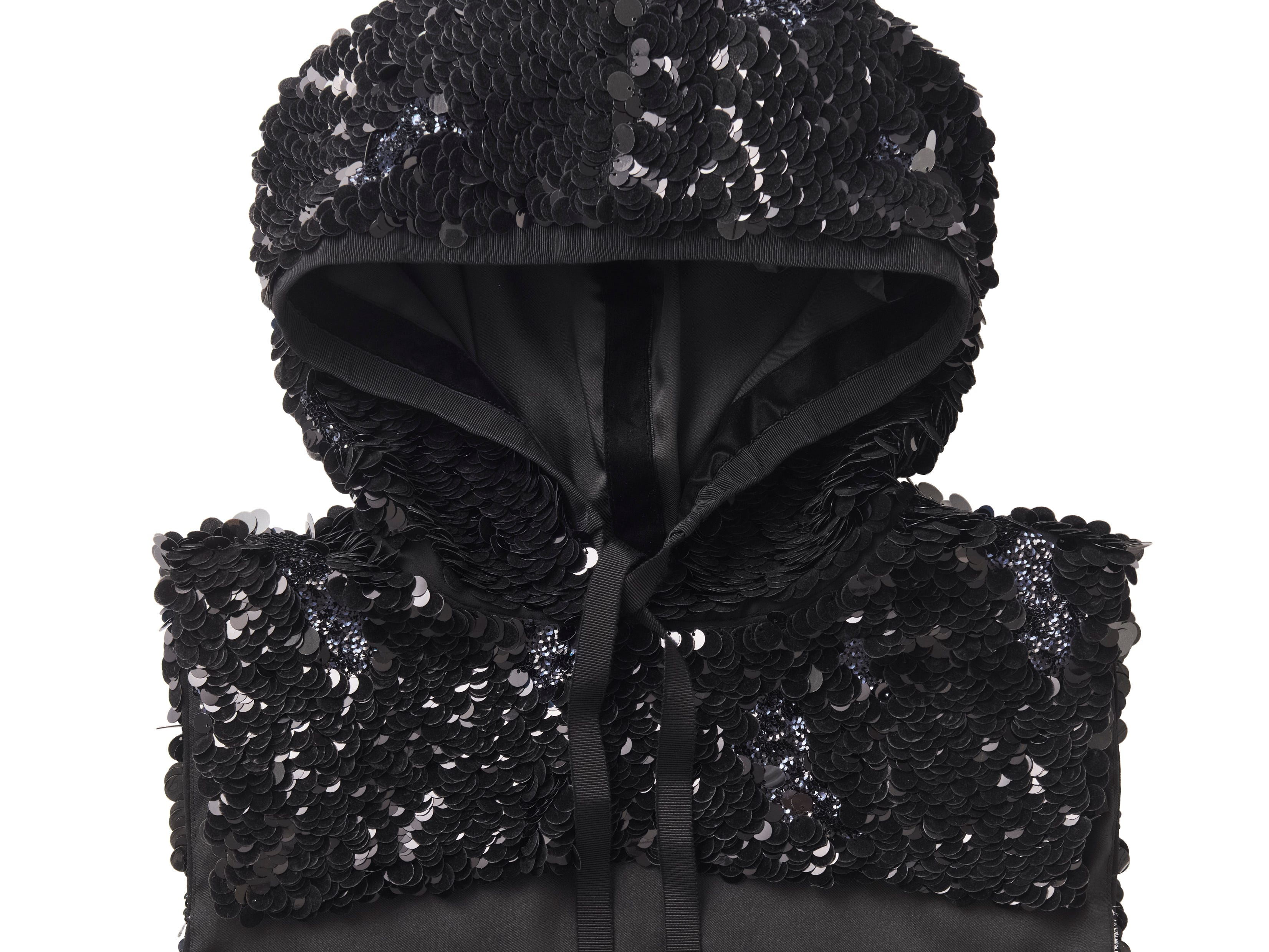 H&M says 35% of the materials in its clothing now are organic, recycled or otherwise sustainably sourced. The company's goal is to increase the percentage every year and reach 100% by 2030. Here, a hoodie in H&M's Conscious Exclusive collection for autumn and winter made of recycled sequins. Price: $99.