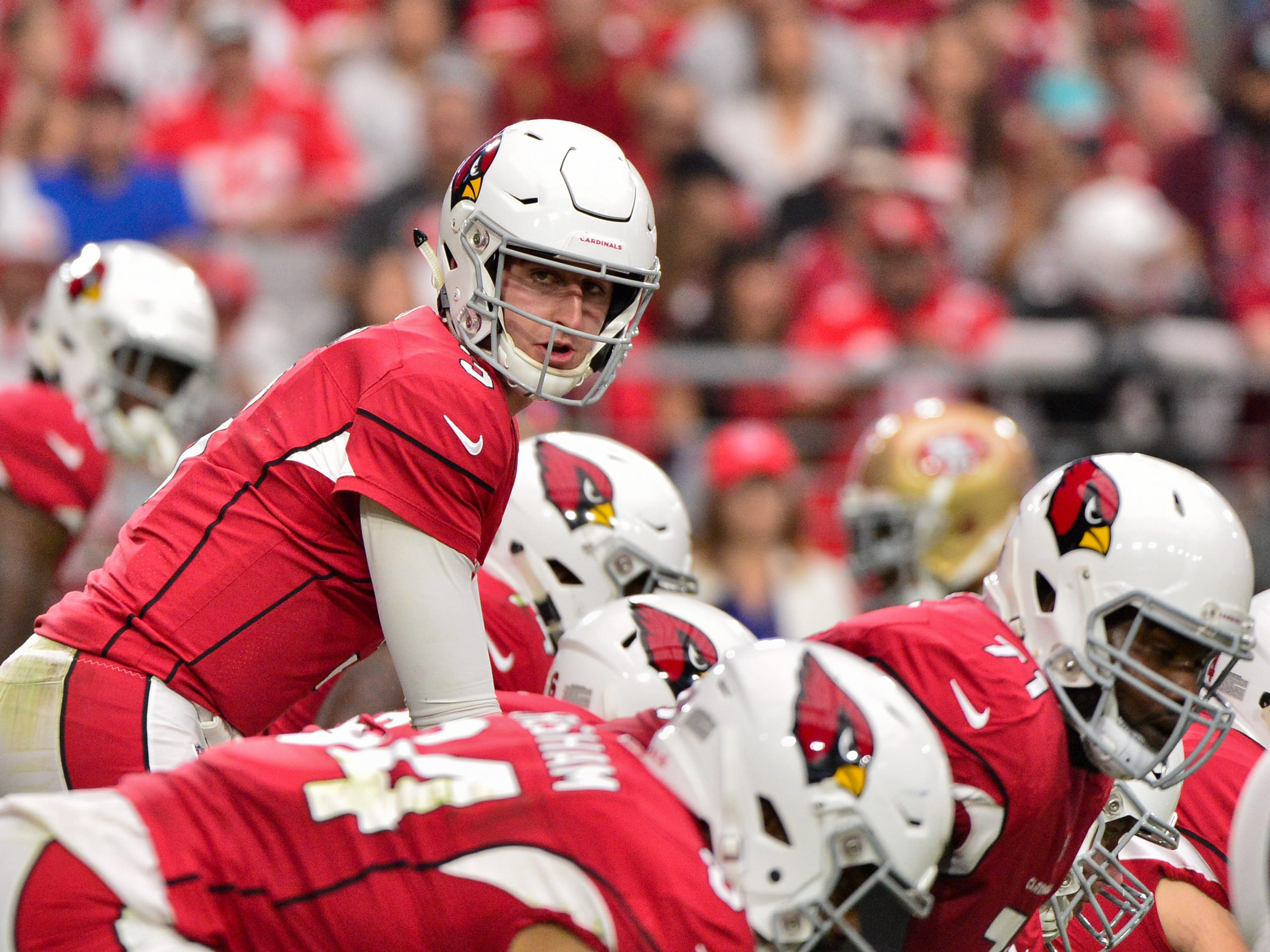 28. Cardinals (29): They can use some inspiration. Maybe signing Aurora, Colo., shooting survivor Zack Golditch will provide it ... while bolstering O-line.