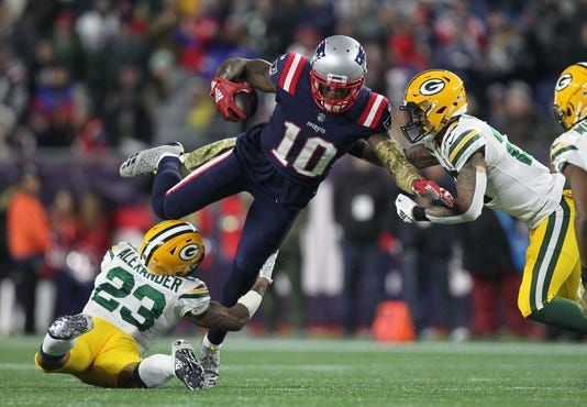 Usp Nfl Green Bay Packers At New England Patriots S Fbn Nep Gb Usa Ma