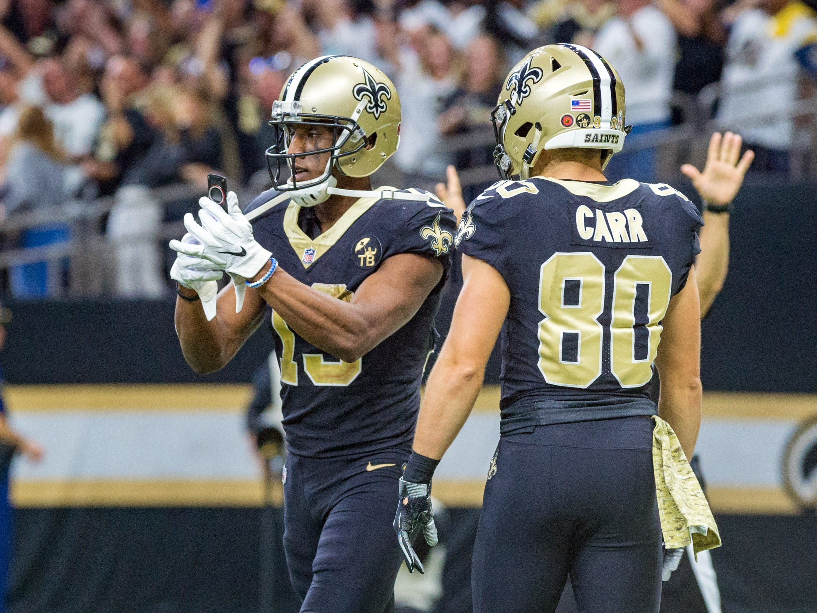 1. Saints (2): Handing Rams their first defeat earns catbird seat. But despite owning key tiebreaker, New Orleans has much tougher path to NFC's top seed.