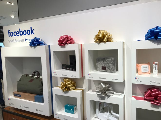 Facebook has teamed up with Macy's to create a small business pop up