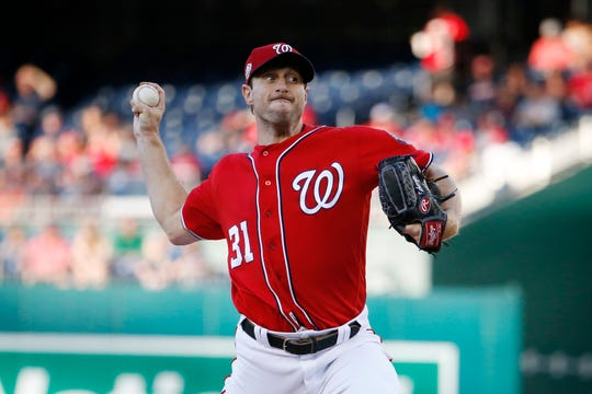 Max Scherzer helps give the Nationals one of the best rotations in the National League.