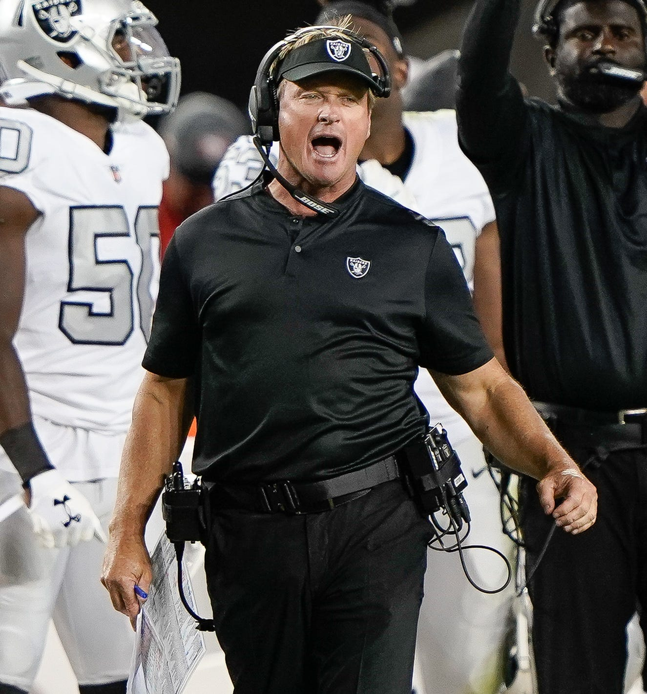 32. Raiders (last week: 32): Welp. At least it was entertaining reading Jon Gruden's lips Thursday and watching him side-eye defensive coordinator Paul Guenther.