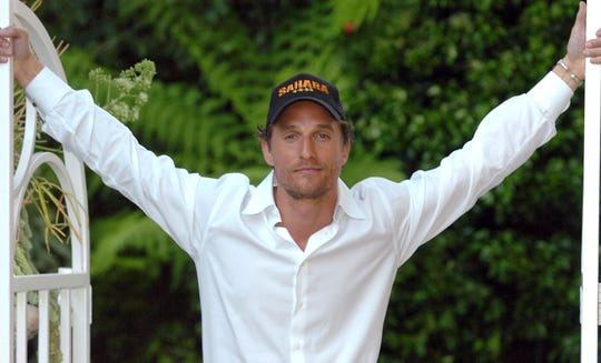 McConaughey at the peak of his romcom-heavy, beach bum phase.