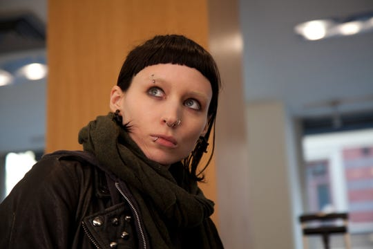"""Rooney Mara's dramatic transformation into waifish hacker Lisbeth Salander in David Fincher's """"The Girl with the Dragon Tattoo"""" earned her an Oscar nomination."""