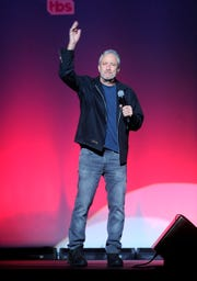 Stewart headlined this year's Stand Up for Heroes alongside country singer Eric Church and comedian Jimmy Carr.