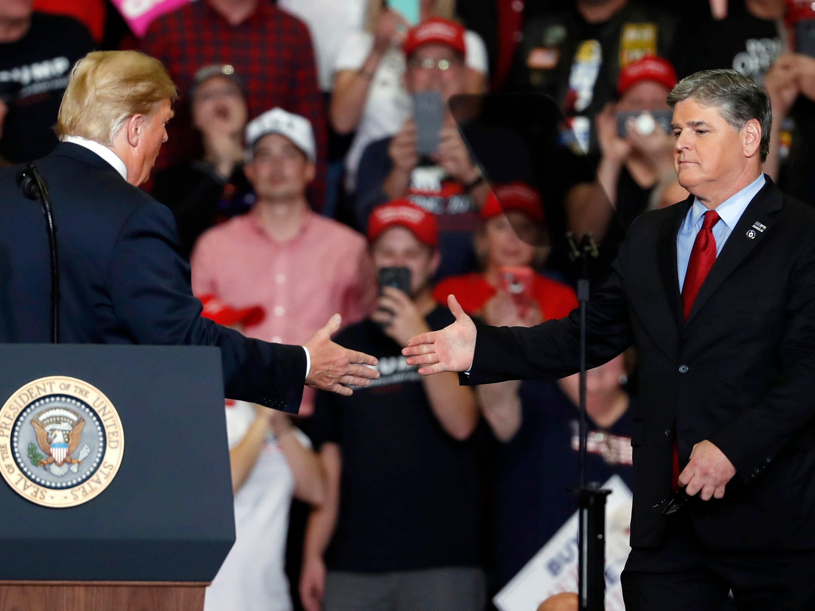 Sean Hannity: Fox News Channel host got in trouble over a political rally once before in Cincinnati