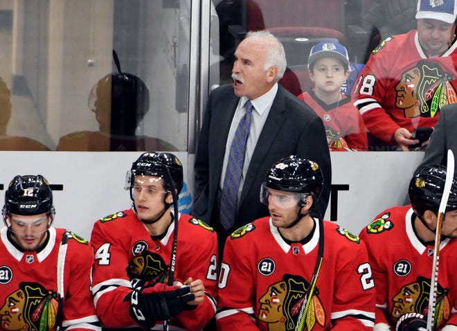 Joel Quenneville had coached the Blackhawks since 2008.