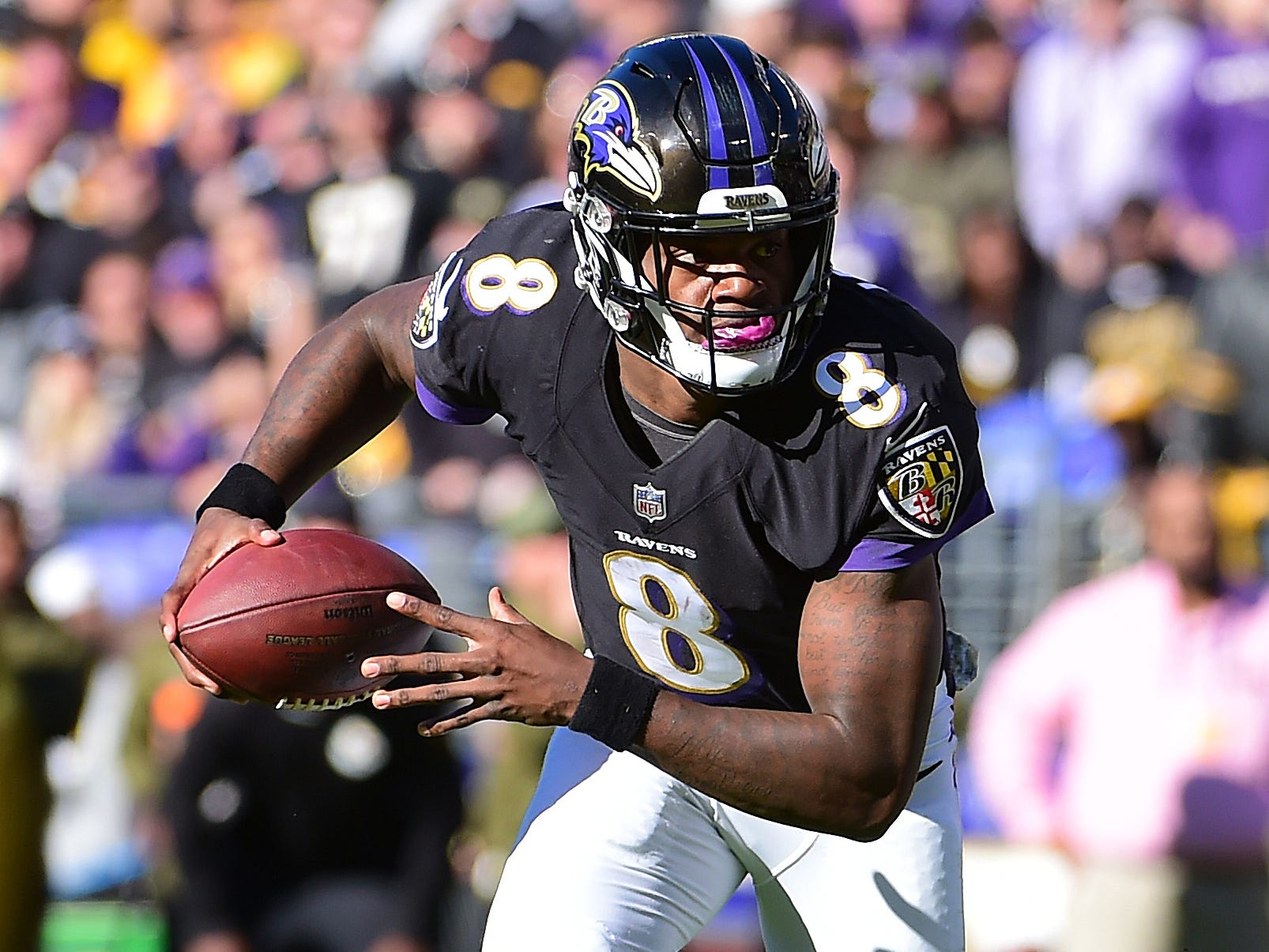16. Ravens (13): As season stunningly spirals away, might be time to give Lamar Jackson shot rather than continue untenable Joe Flacco-Jackson packages.