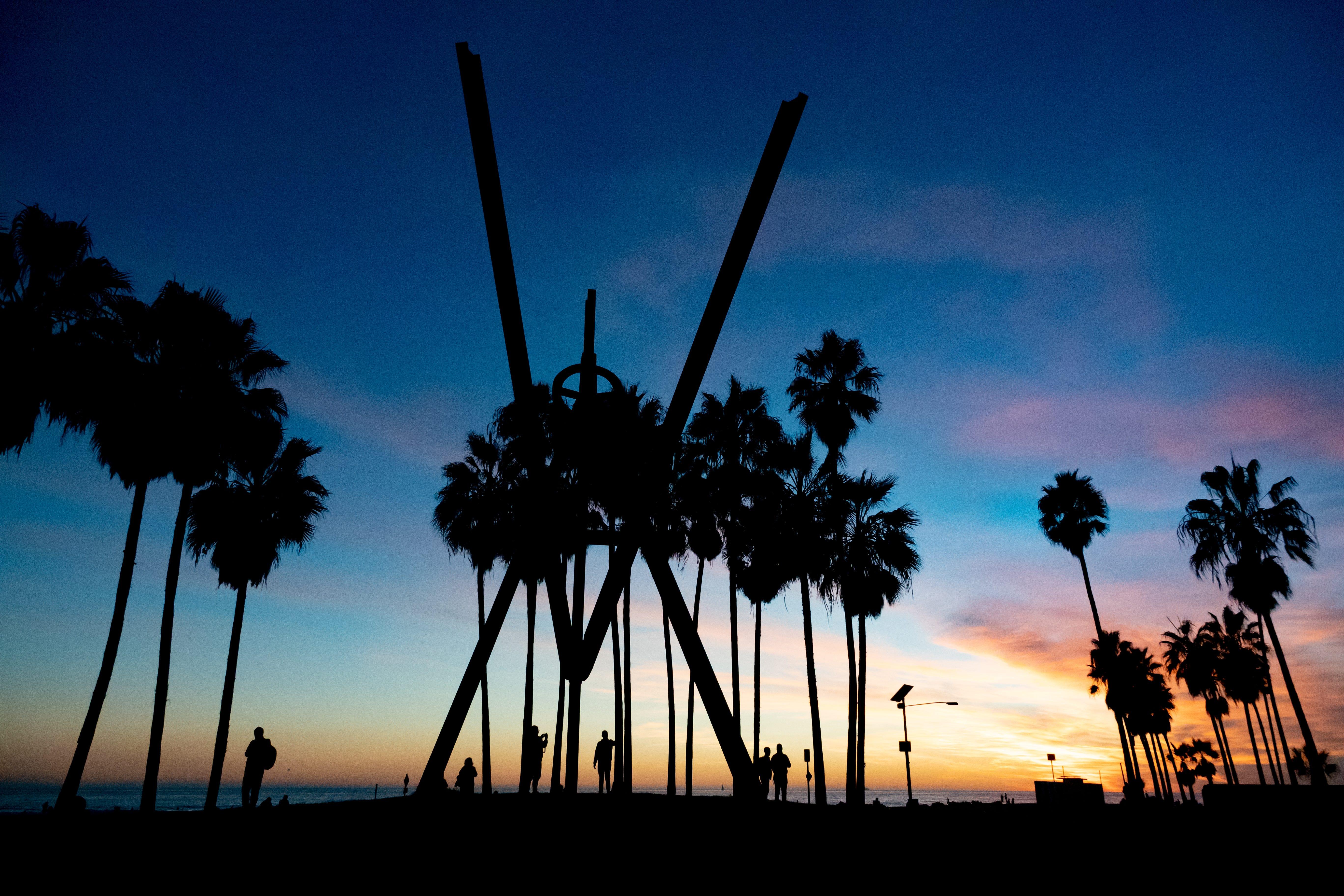 Photo tour: People watching, street art in wild Venice Beach, California | USA Today