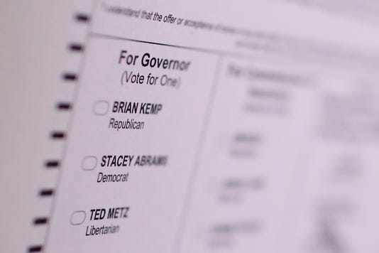 Ap Election 2018 Georgia Governor A Eln Usa Ga