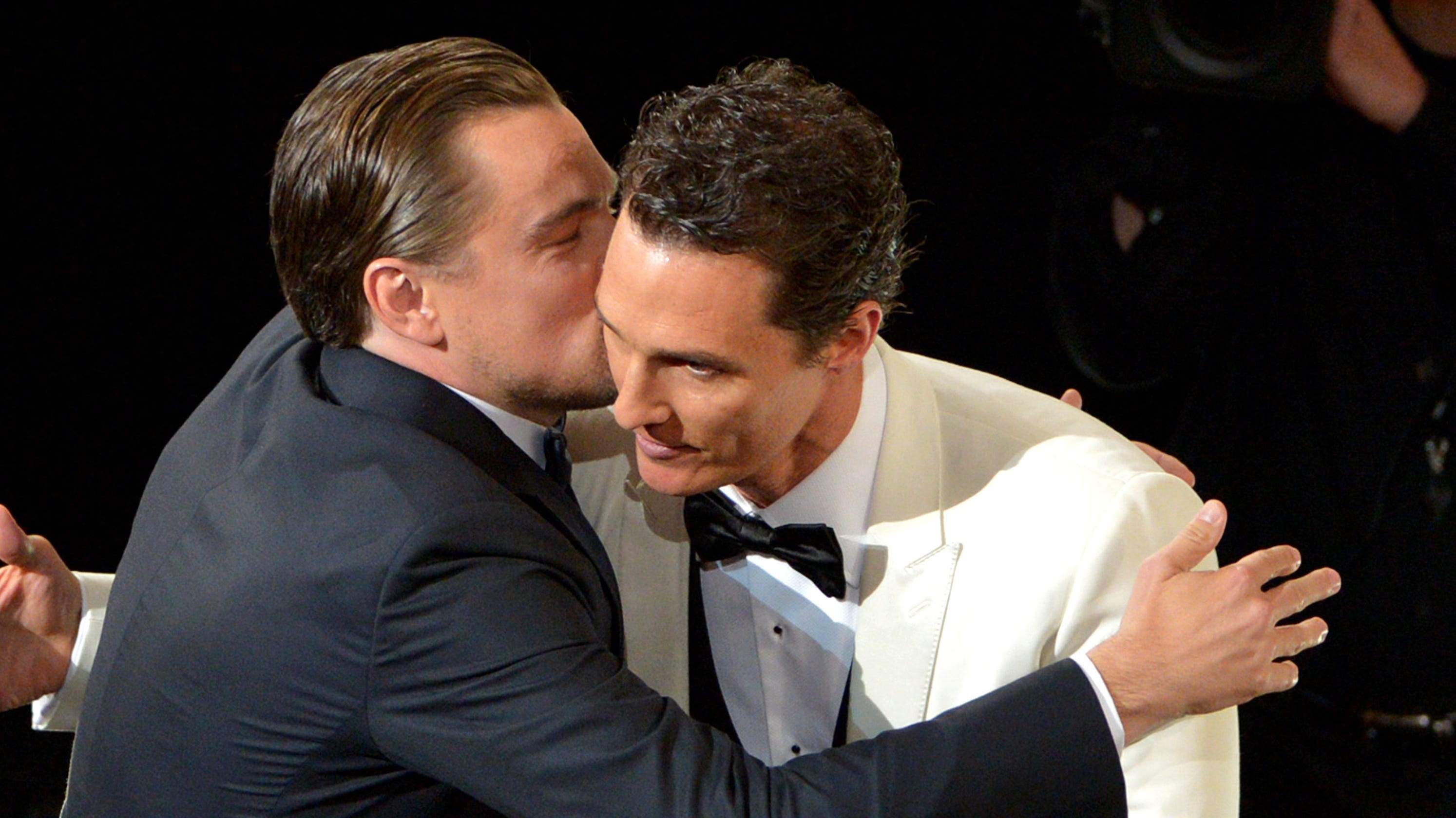 Image result for matthew mcconaughey and dicaprio