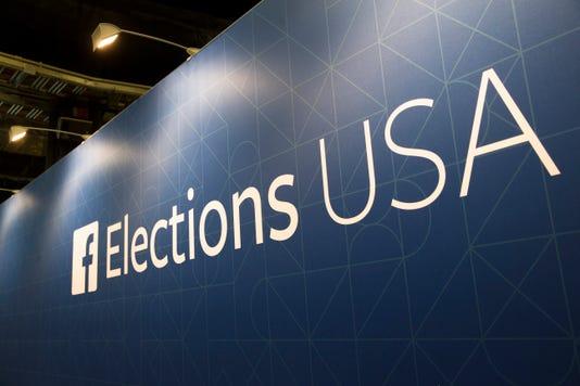 Ap Social Media Election Battle A Eln File Usa Oh