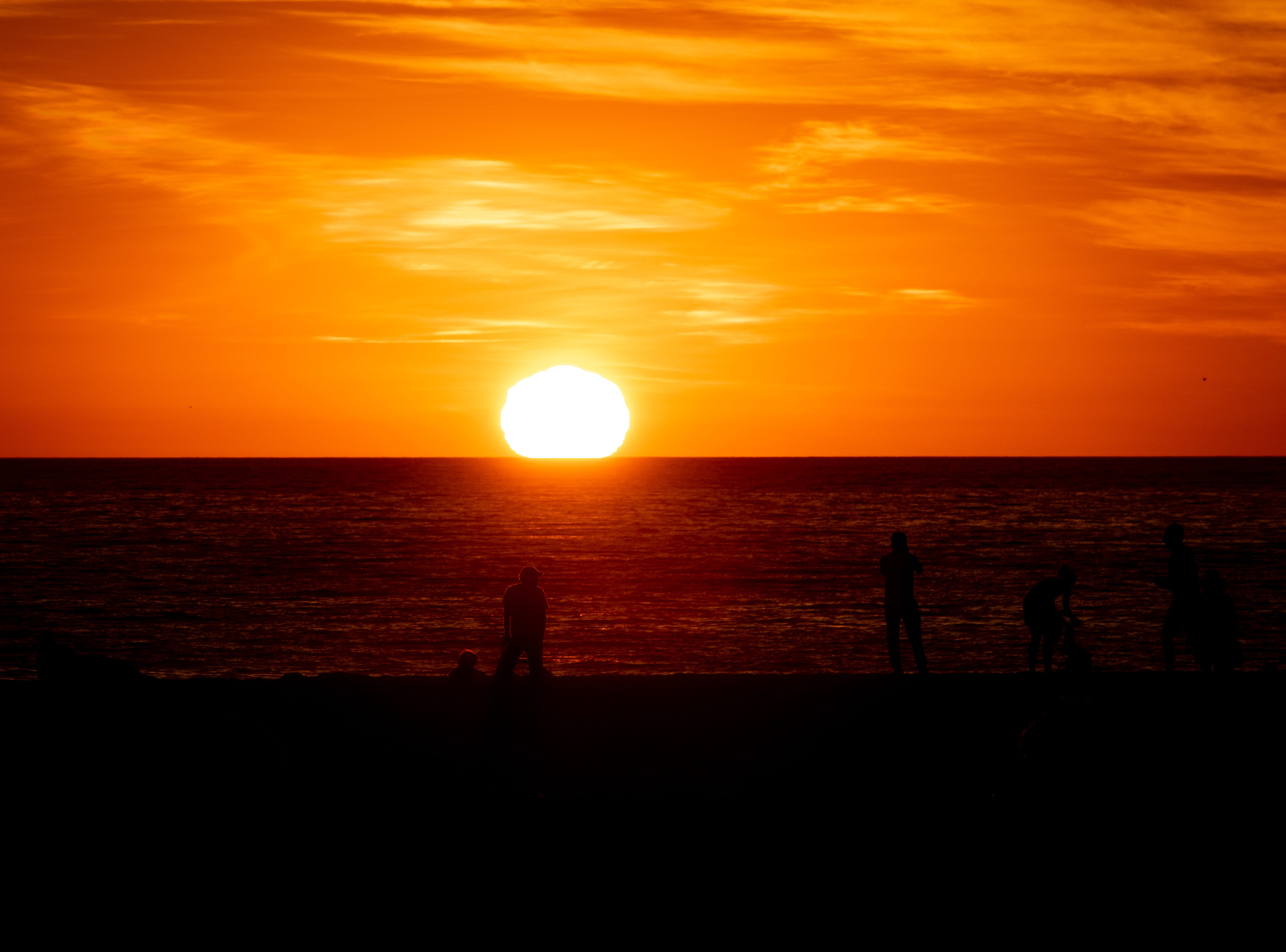 Venice Beach is a popular spot to watch West Coast sunsets.