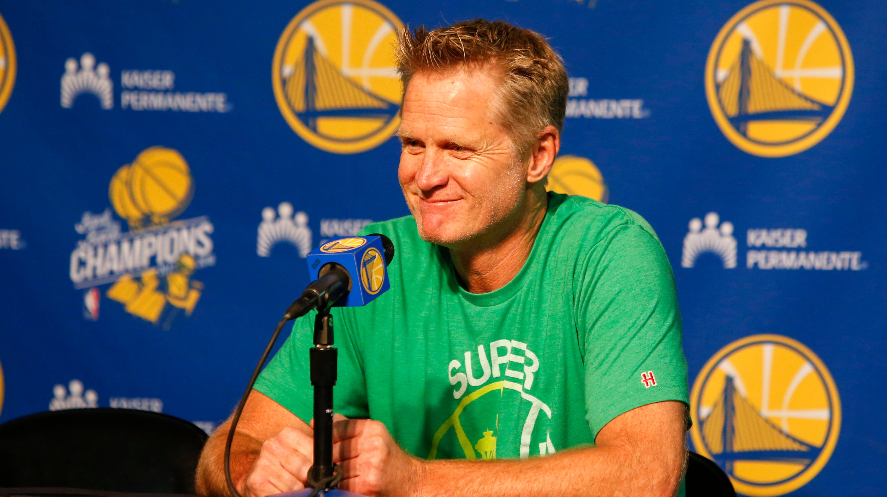 Steve Kerr on why voting is so important