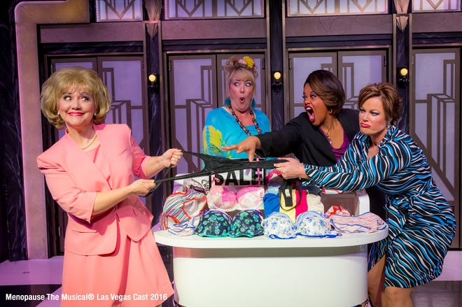 """""""Menopause the Musical"""" comes Sunday, Aug. 18 to the Tower Theater in Fresno."""