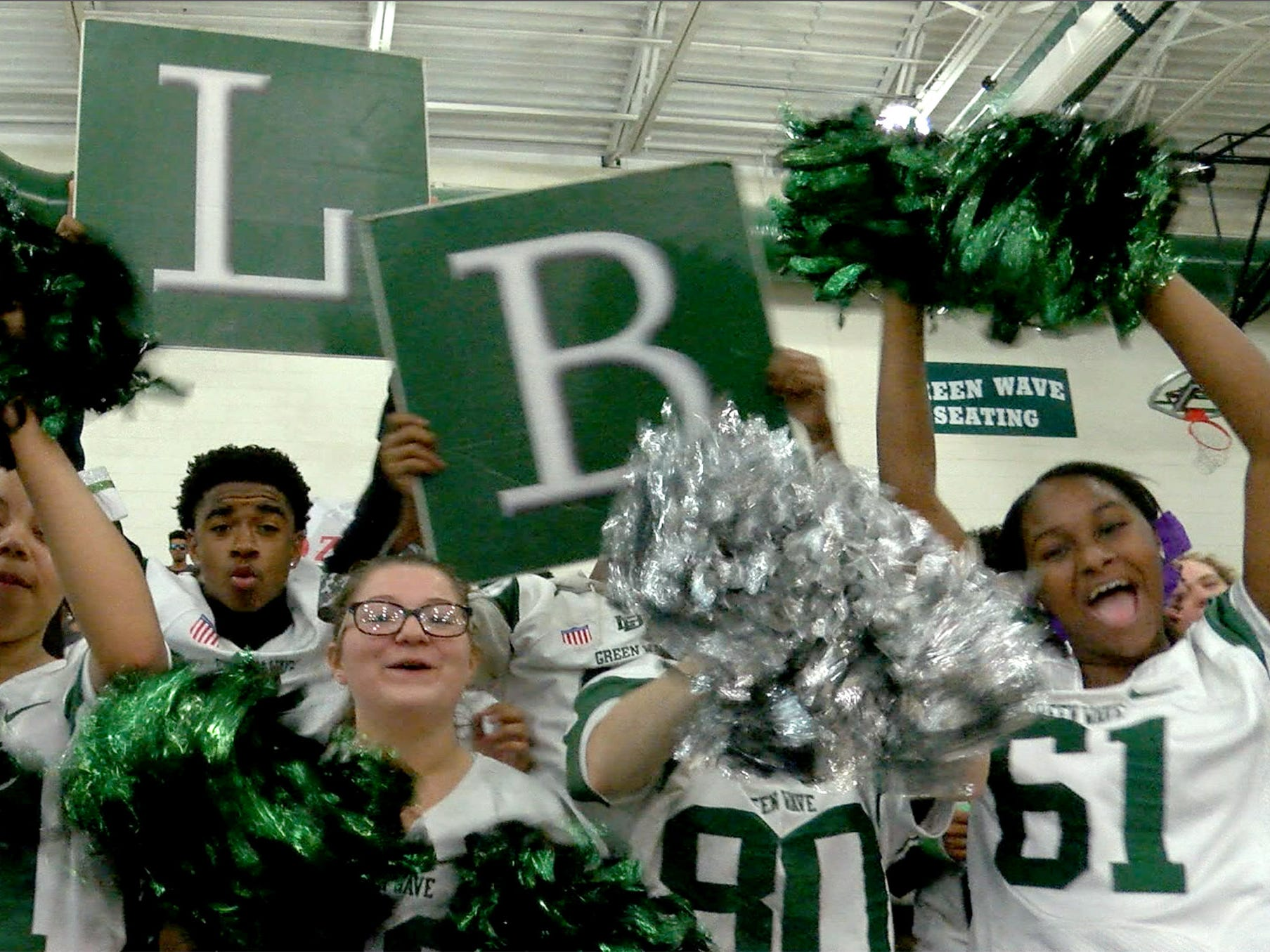Go behind the scenes during the Red Zone Road show taping at Long Branch High School Monday, November 5, 2018.
