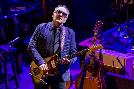 Elvis Costello & The Imposters perform at the Paramount Theater in Asbury Park, N.J.