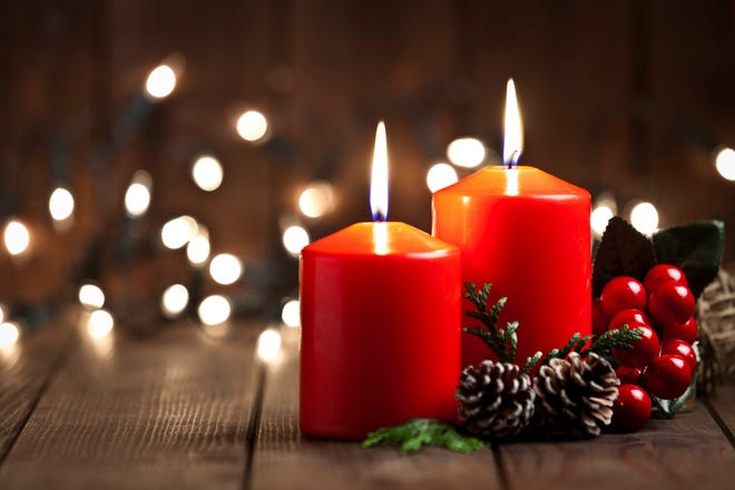 Like to light candles for the holidays? Make sure you blow them out when you leave the room or go to sleep, and keep them away from pets and children.