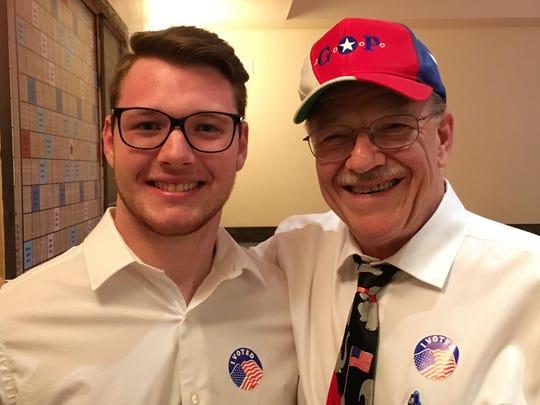 Austin (right) and Samuel Britten