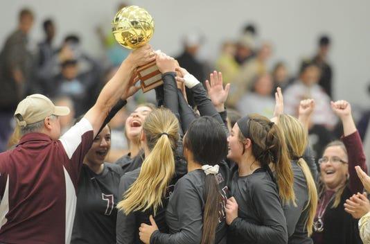 Hawley volleyball region quarterfinal